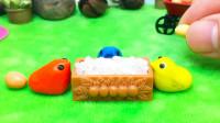 原创定格动画:养一窝鸡,每天都有茶叶蛋吃,太有趣了