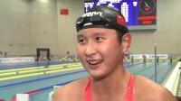 破亚洲纪录 王简嘉禾800米自由泳夺冠