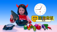宝宝做饭炒菜,儿童过家家厨房,水果玩具套装