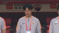 深圳体育场为四川火灾烈士默哀,王大雷双手指天致敬英雄