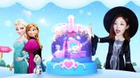 艾莎公主给雪宝的礼物,超漂亮冰雪奇缘水晶球DIY
