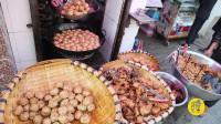 大叔5平米小店做小吃,鸡蛋大的肉丸卖24元一斤,15年没调过价