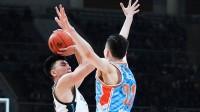 CBA-李晓旭VS新疆砍10+6,最强蓝领屡屡命中关键球