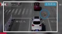 江苏徐州:斑马线前不礼让狗被罚?  交警:图P过