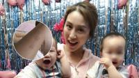 """周美毅否认""""虐子"""":看到照片反而更加担心孩子"""