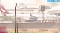 中国台湾:高雄飞香港客机引擎冒烟  返航高雄