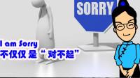 I am sorry 不仅是道歉 - CC说口语2