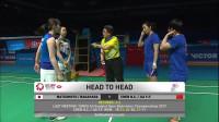2019马来西亚羽毛球公开赛女双四分之一决赛 陈清晨/贾一凡vs松本麻佑/永原和可娜 英文