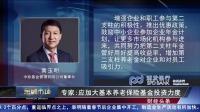 专家表示,应加大杨老板先基金投资力度