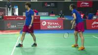 2019新加坡羽毛球公开赛女双四分之一决赛 松本麻佑/永原和可娜vs李汶妹/郑雨 英文