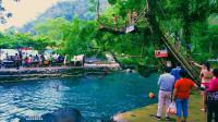 【原创】老挝万荣蓝色泄湖 亲近大自然 美国地理杂志推介的背包客天堂