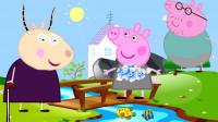 爸爸猪儿童睡前故事有礼貌的佩奇为什么说佩奇是个有礼貌的好孩子