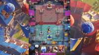 皇室战争02:凭借我卡牌的等级压制,打入挑战者联赛!