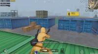 刺激战场:开局G港落地一把AUG,实力钢枪连灭5人杀出G港!
