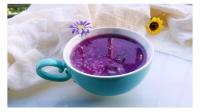 生活小常识-如何让紫薯粥从蓝色变为紫色