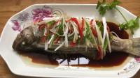 清蒸鲈鱼,鲜香嫩滑,做法简单,鱼肉细嫩爽滑无腥味,营养健康