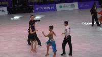 2019第四届中国.深圳体育舞蹈全国公开赛 壮年拉丁舞-张帆 钟平 _超清