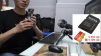 索尼微单相机内存卡开箱视频