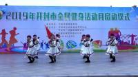 舞蹈:草原女民兵,俏金秋艺术团,编导:郑金枝