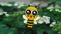 勤劳的小蜜蜂 宝贝牛快乐小画家 绘画美术 教宝宝学画画
