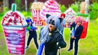 好神奇!魔仙堡的萌宝们穿越到另一个世界做什么呢?趣味玩具故事