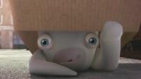 少儿爆笑动画:兔子藏在盒子想吓唬伙伴,结果被伙伴给无视了