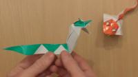用一张纸折眼镜蛇的方法,学习起来很简单,趣味十足!