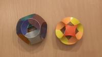 用纸做的球,不仅好玩还非常简单,看一遍就学会了!