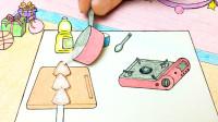 手绘定格动画:用迷你粽子做冰糖葫芦,与众不同的吃法你见过吗