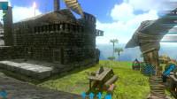 方舟生存进化手游23:有钱了给自己扩建了更结实的石头房子
