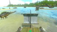 方舟生存进化手游24:我要离开小岛前往更大的岛屿了