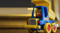 发条卡通卡车小玩具