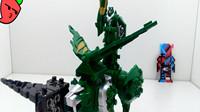 182期模玩分享DX骑士龙系列04泰格兰斯-骑士龙战队