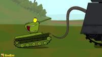 坦克世界欢乐动画:发现了秘密