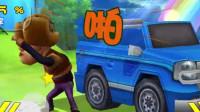 熊出没大冒险第十一期:熊大十奔跑中的王者,跑的最快了