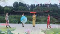 《又见江南雨》四人旗袍秀  制作 林下风韵