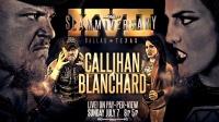 TNA 2019.07.08 Impact Wrestling Slammiversary 17 跨性别男女混打赛:萨米卡里汉 vs. 泰莎布兰查德
