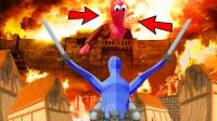 小飞象解说✘全面战争模拟器 进击的巨人袭击!百人大战一触即发!