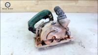 【拆解翻新】故障电圆锯Brick Circular Saw Restoration _ Hitachi Circular Saw