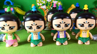小琦玩具 第02集 七个厉害的葫芦娃凑成葫芦兄弟