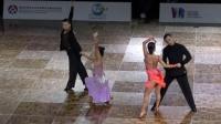 傅汉慧  章莉 2019世界怀第十七届国际标准舞蹈公开赛 拉丁舞决赛_超清