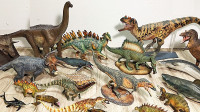认识腕龙剑龙三角龙恐龙模型玩具