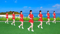益馨广场舞《DJ踏浪》简单16步,好听又好看,附教学