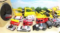 消防车工程车救护车玩具