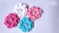 「时尚针织」鲜艳漂亮的小花朵