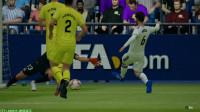 FIFAOL4崛起哥哥皇马VS赫罗纳,梅老板就是6