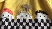第113集 娃娃头套衫(2)后片织法