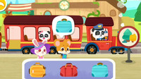 认识交通工具 有哪些东西不能带上火车呢?宝宝巴士游戏