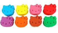 彩色橡皮泥玩具变形小狗狗