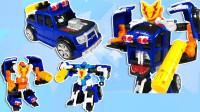 赛车吉普车汽车玩具转换机器人